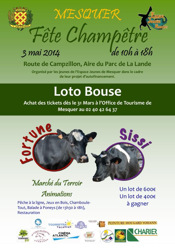 Affiche Loto Bouse